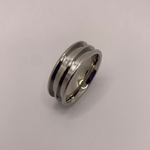 Stainless steel double channel ring core