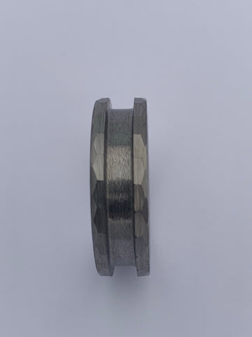 Hammered Tungsten ring core
