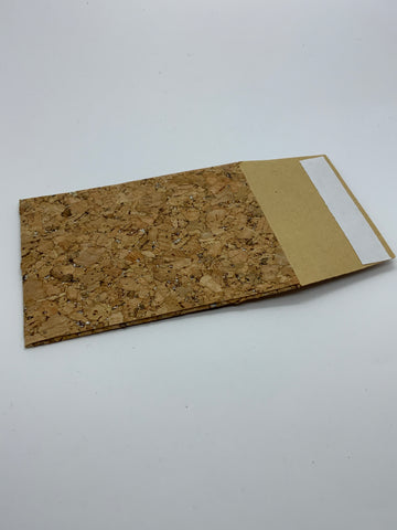 Cork ring boxes and pouches