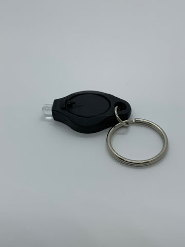 UV keychain light for glow powders