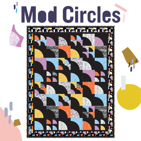 Mod Circles free quilt pattern