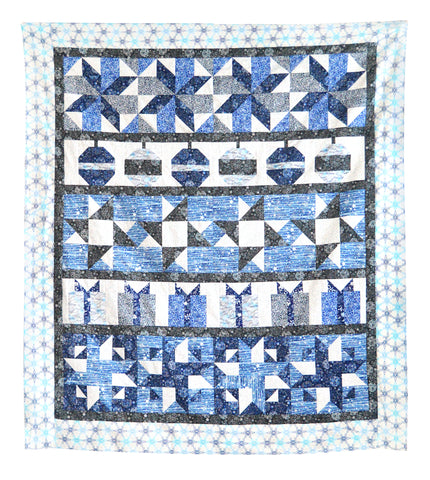 Blue Holidays Quilt-Along