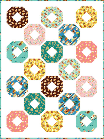 Donut Envy free quilt pattern