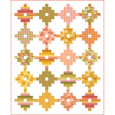 Big Blooms free quilt pattern