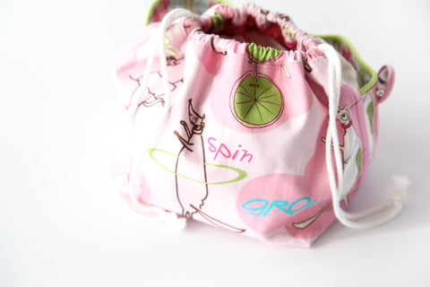 Jump Ride Spin knitting bag