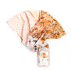 Desert Horses 6 pc Flat Fat Stack in Peach - 120FQDH3
