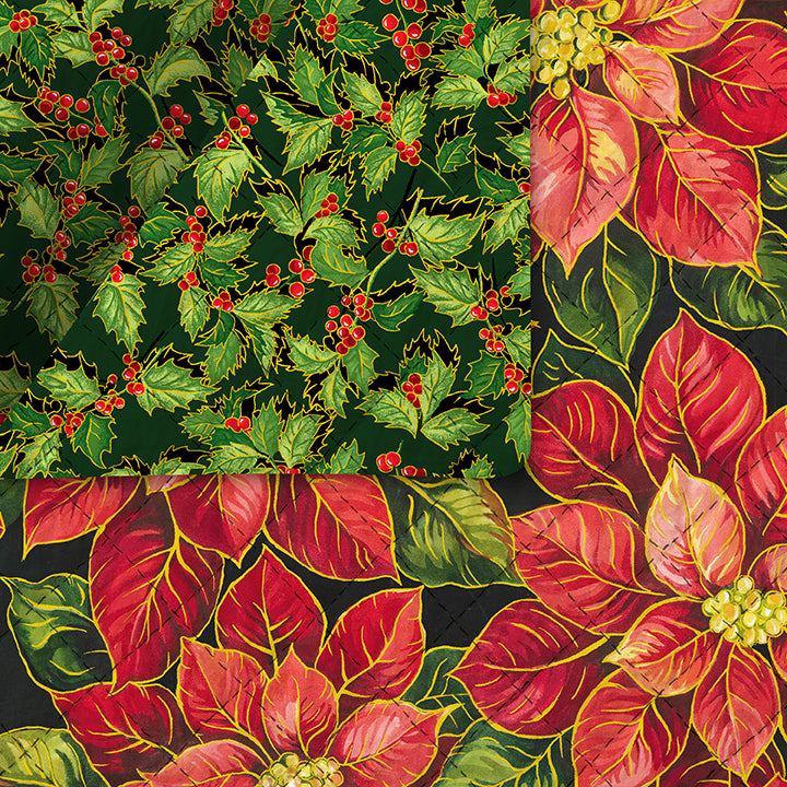Holiday Edition Pre-Quilted Fabric 21418-67011