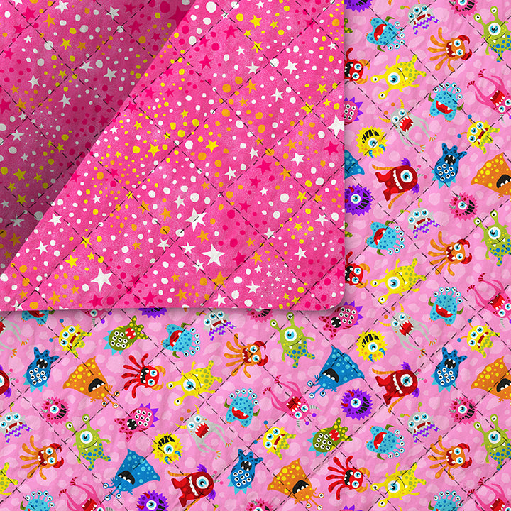 Launch Party Pre-Quilted Fabric 220-99536