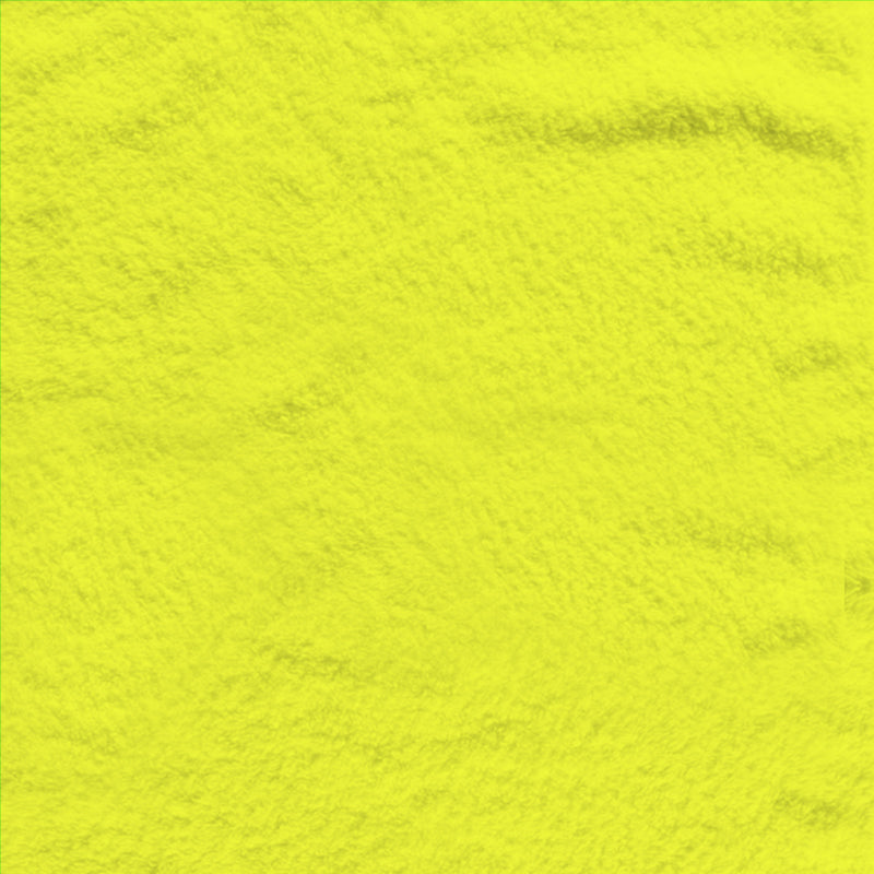 Fleece Polyester 306-63 Neon Yellow