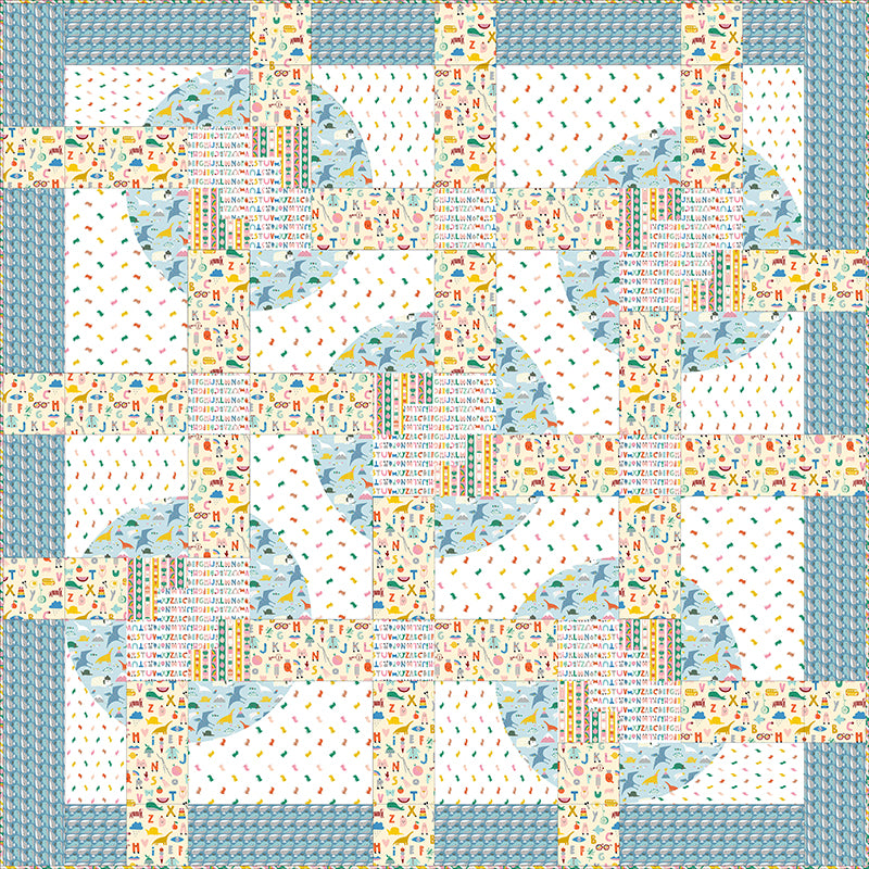 Quilt Pattern -  Spin Class by Everyday Stitches