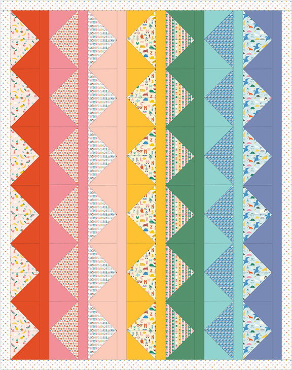 Free Quilt Pattern -  Learn As We Grow