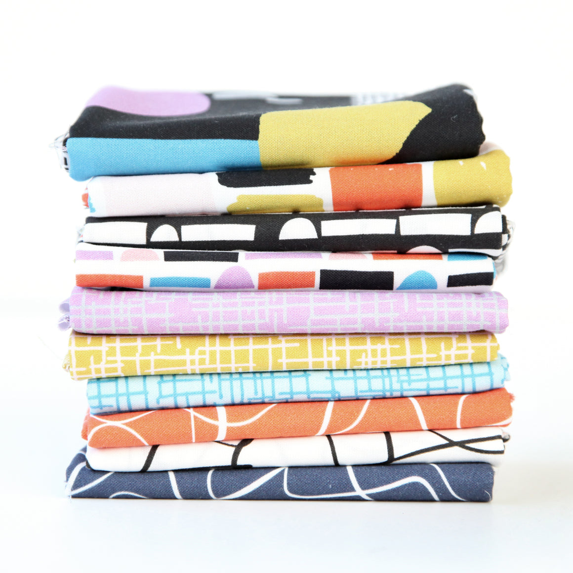 Abstract Collage (Bright) Fat Quarter Bundle - 120FQACBRT