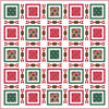 Free Quilt Pattern - Christmas Sweater Cats