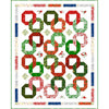 Christmas Garlands Pattern- Season's Greetings