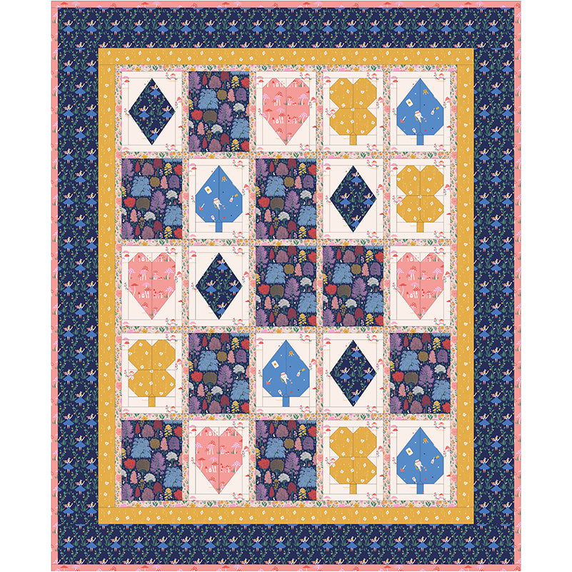 Free Quilt Pattern -  Deck of Cards