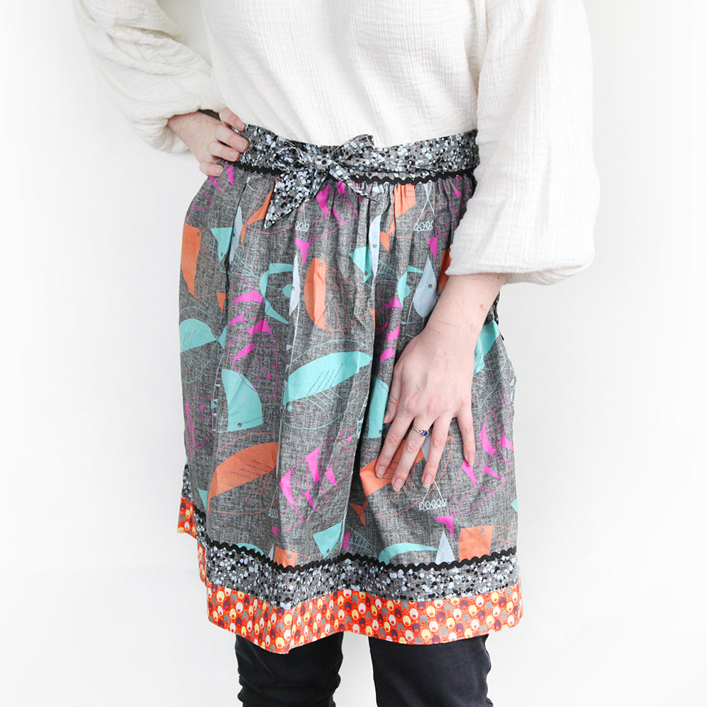 Free Today's Apron Pattern by Hoodie Crescent