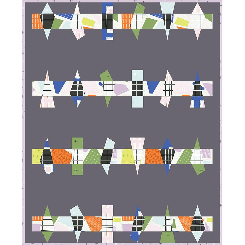 Quilt Pattern - Flint by Wax and Wane Studio