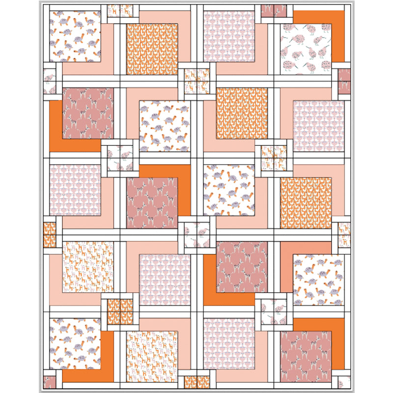 Free Quilt Pattern -  Animal Kingdom
