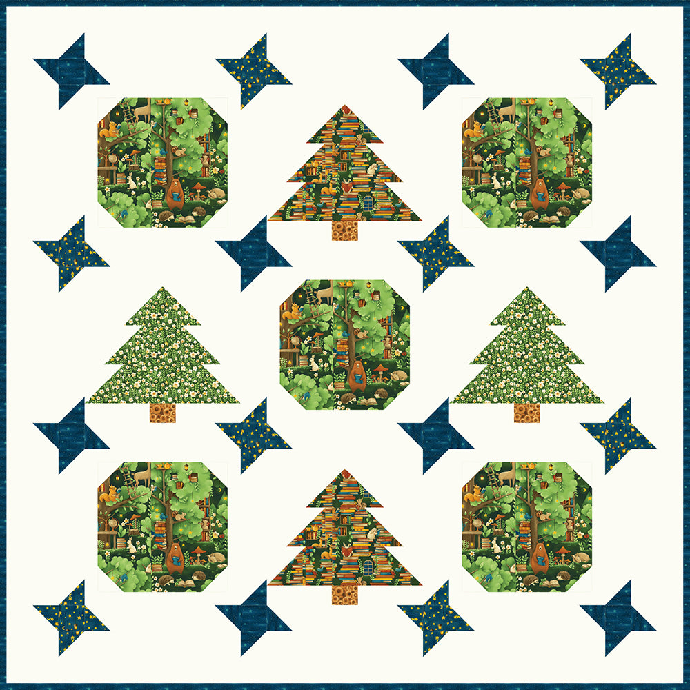 Free Quilt Pattern - Forest Fables