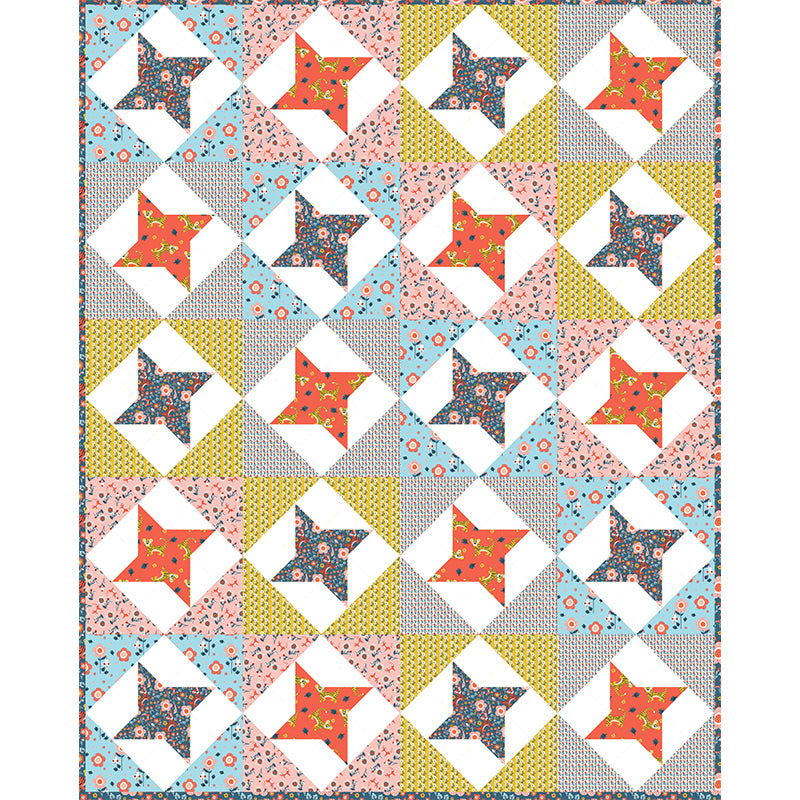 Free Quilt Pattern - Friendly Tigers