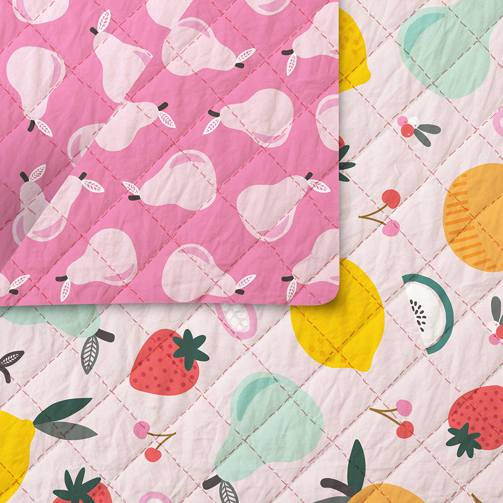 Fruity Pre-Quilted Fabric 220-19842/220-19871