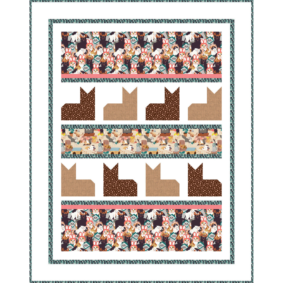 Hats for Cats Pattern- Cat's Meow