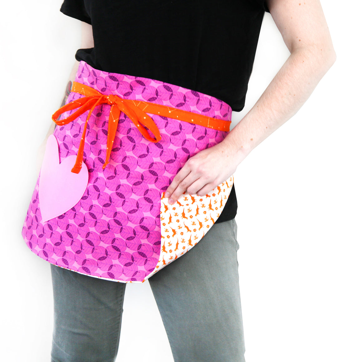 Free Heart Pocket Apron Pattern