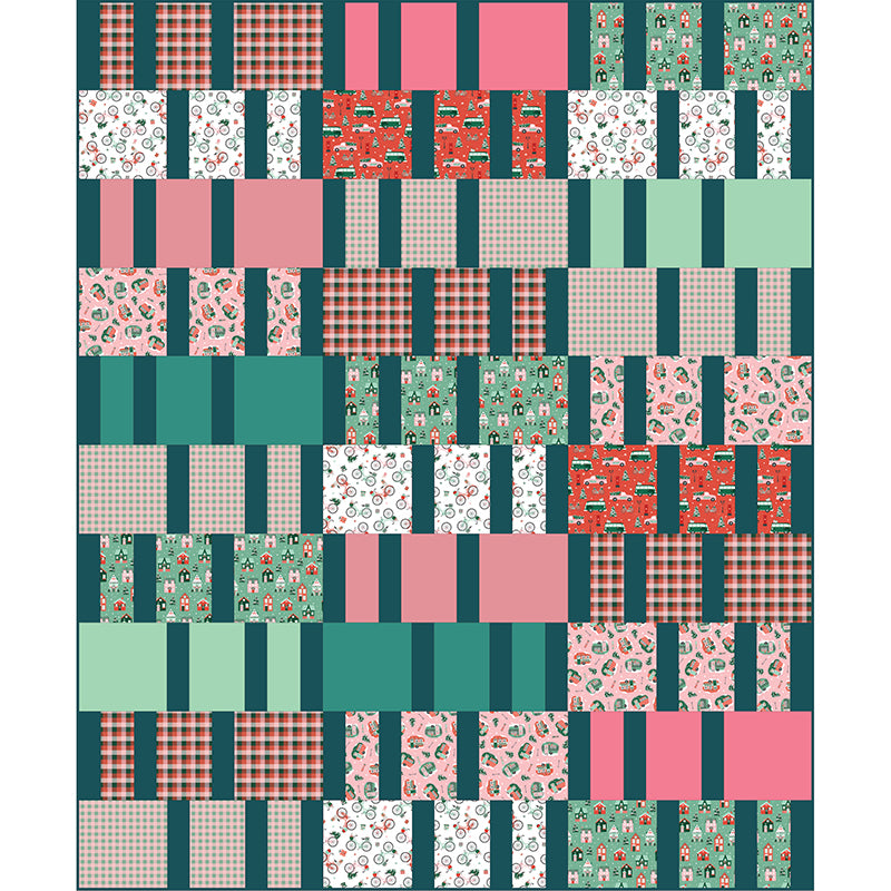 Quilt Pattern - Bars and Stripes by Everyday Stitches