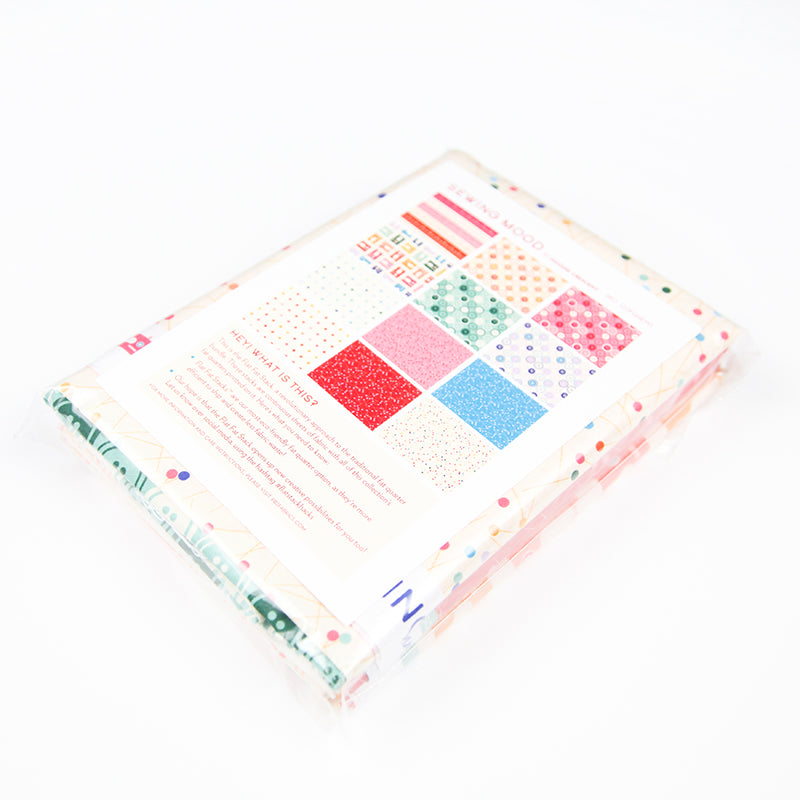 Sewing Mood Flat Fat Stack in Rainbow - 120FQSEW1