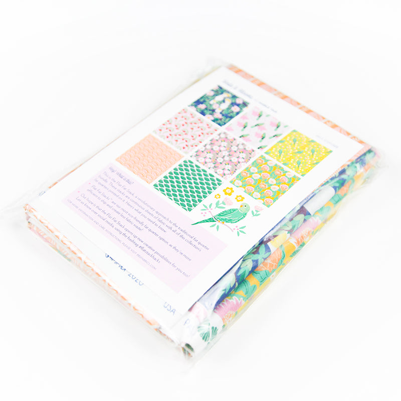 Birds and Blooms Flat Fat Stack - 120FQBB