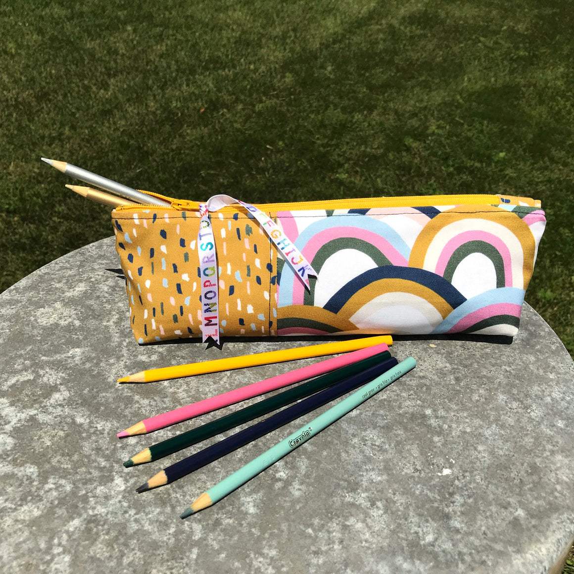 Zippered Pouch and Pencil Pouch Tutorial