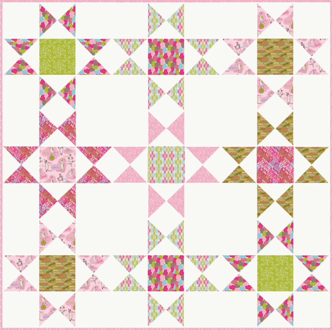 Baby You're a Star- Jump, Ride, Spin! Pattern