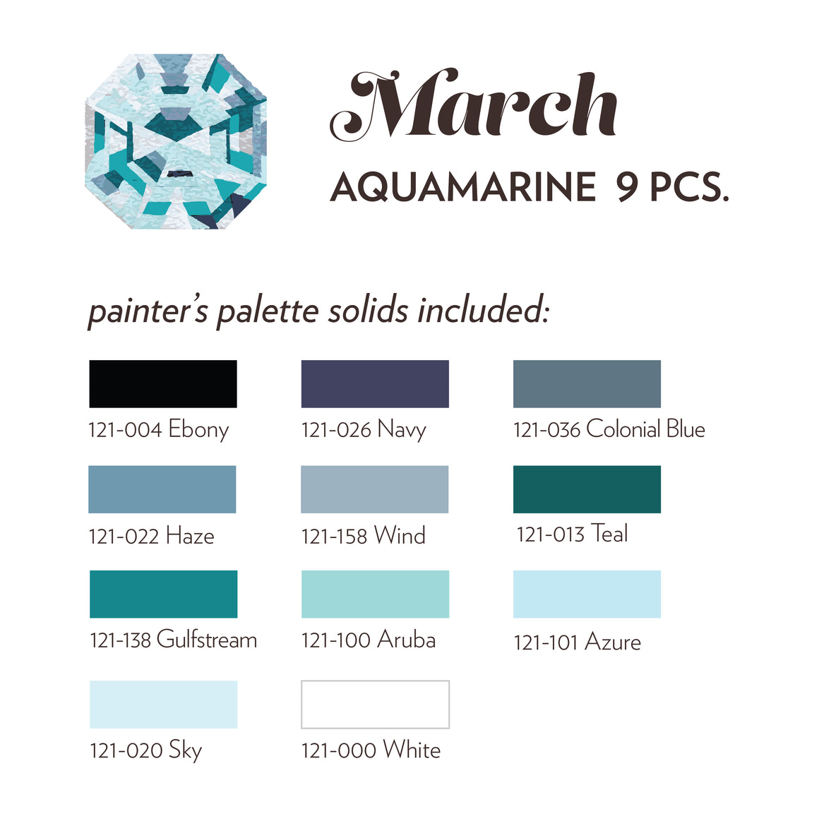 March Birthstone- Aquamarine