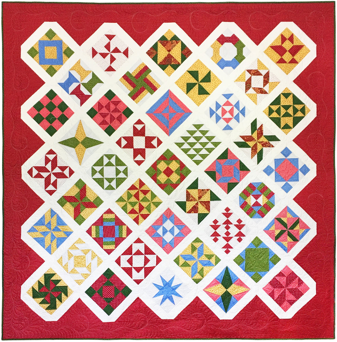 Manzanita Grove Block of the Month Quilt Kit