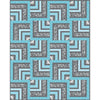 Tropical Blues Pattern - Mod Tropics
