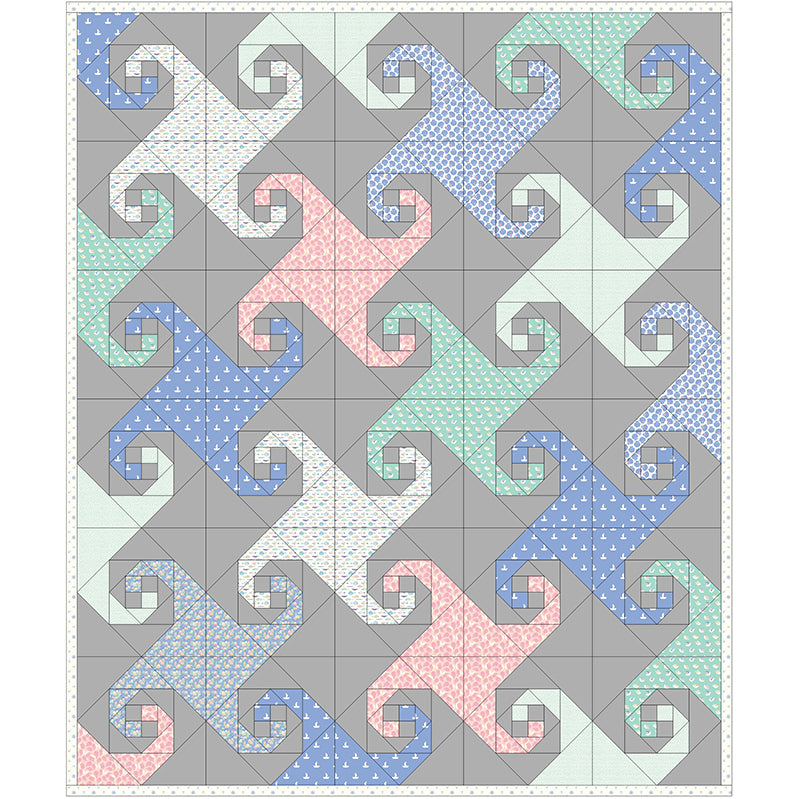 Free Quilt Pattern -  Ocean Waves