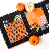 Patchwork Pumpkin Quilt Block and Table Runner