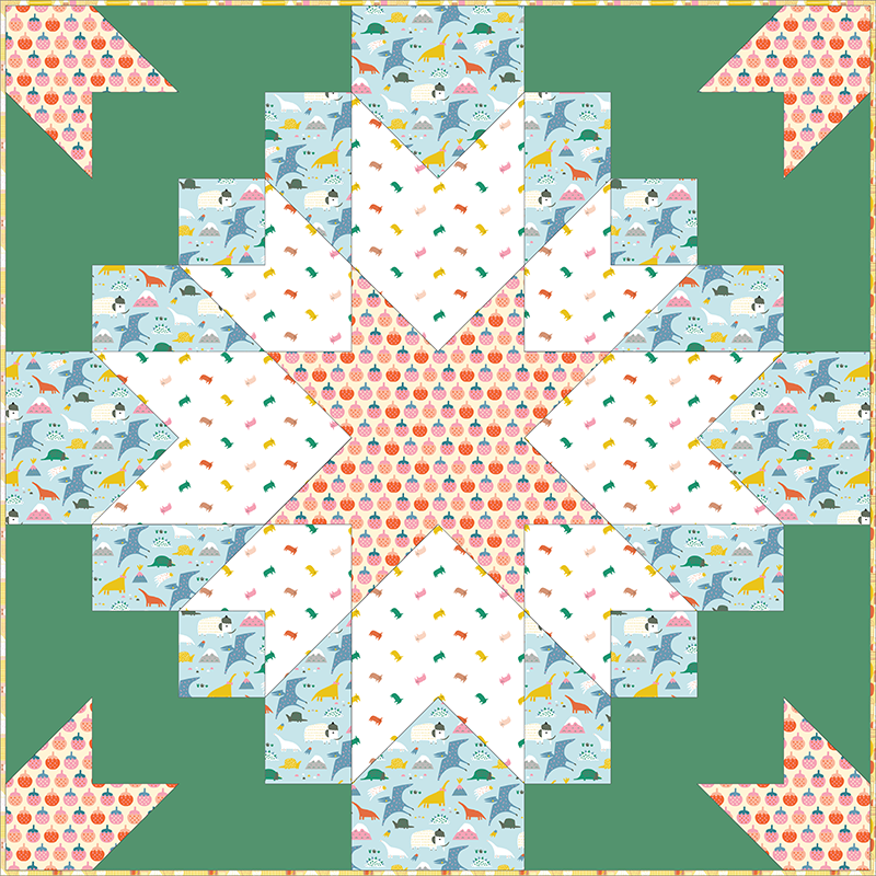 Quilt Pattern -  Etoile by Patchwork & Poodles