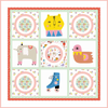 Free Quilt Pattern -  Step Right Up