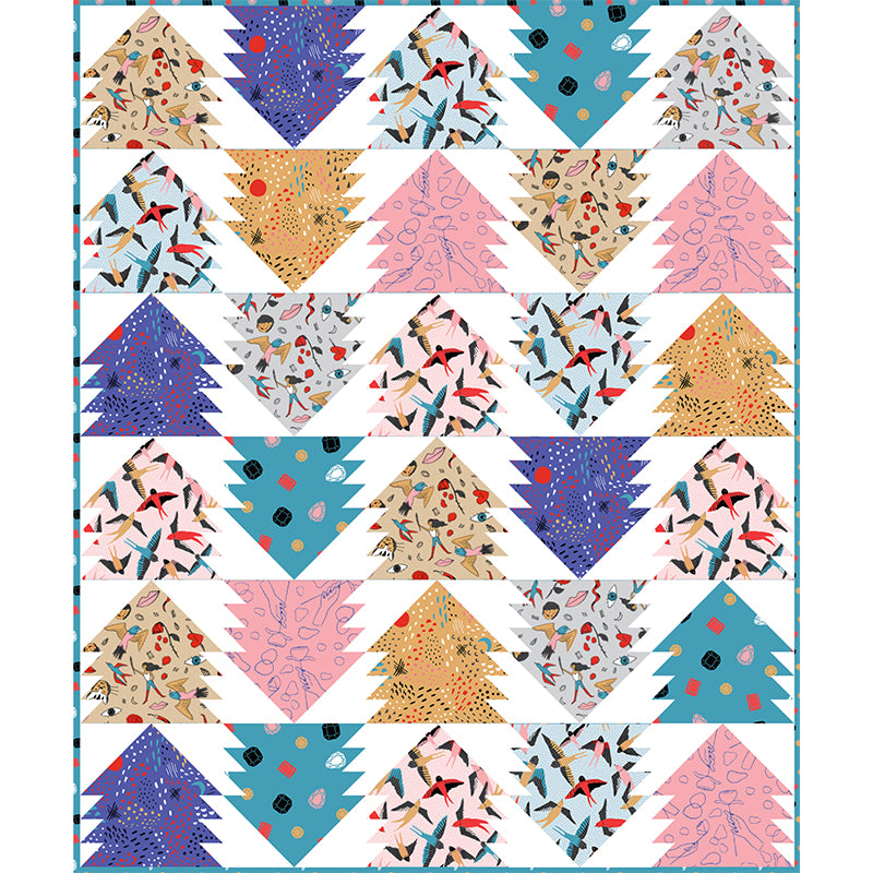 Free Quilt Pattern - Sailor Girl