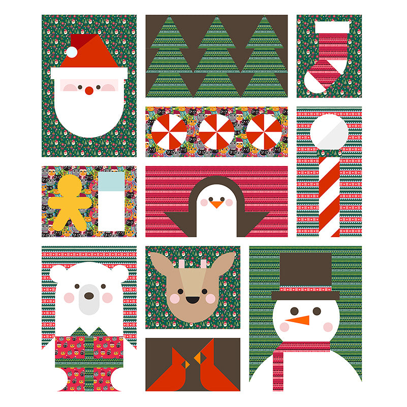 Quilt Pattern -  Santa's Helpers by Corinne Sovey
