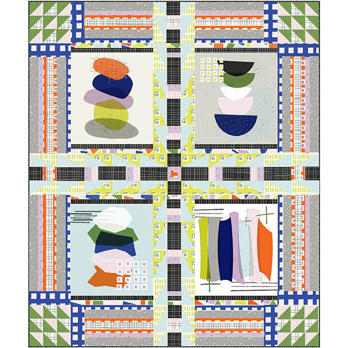 COMING SOON Quilt Pattern -  Sightseeing
