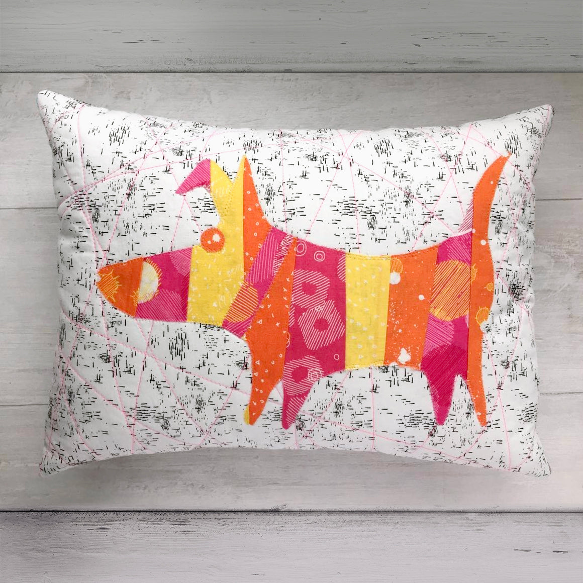 Mod Dog Pillow Pattern