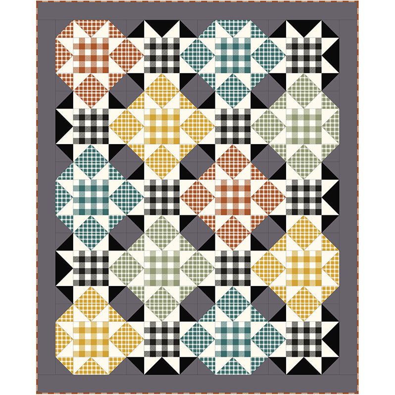 Free Quilt Pattern -  Square Dance