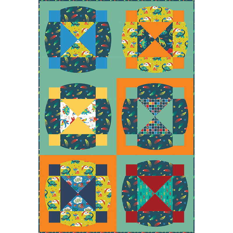 Quilt Pattern -  Circle Time by Everyday Stitches