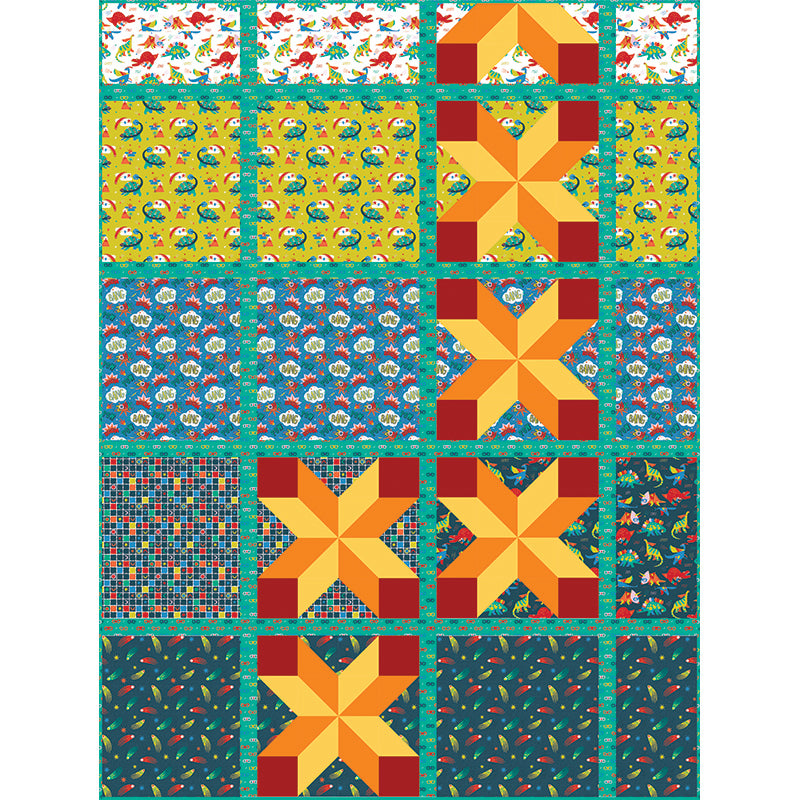 Quilt Pattern -  Exploding Four-Patch by Everyday Stitches