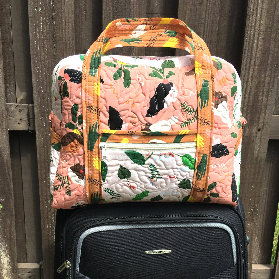 The Ultimate Travel Bag pattern