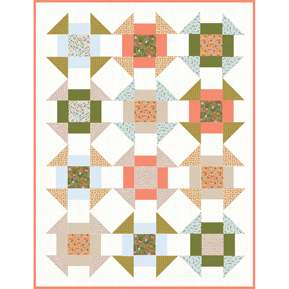 Free Quilt Pattern - Vintage Camping