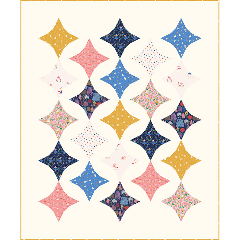 Quilt Pattern - Zesty by Patchwork and Poodles