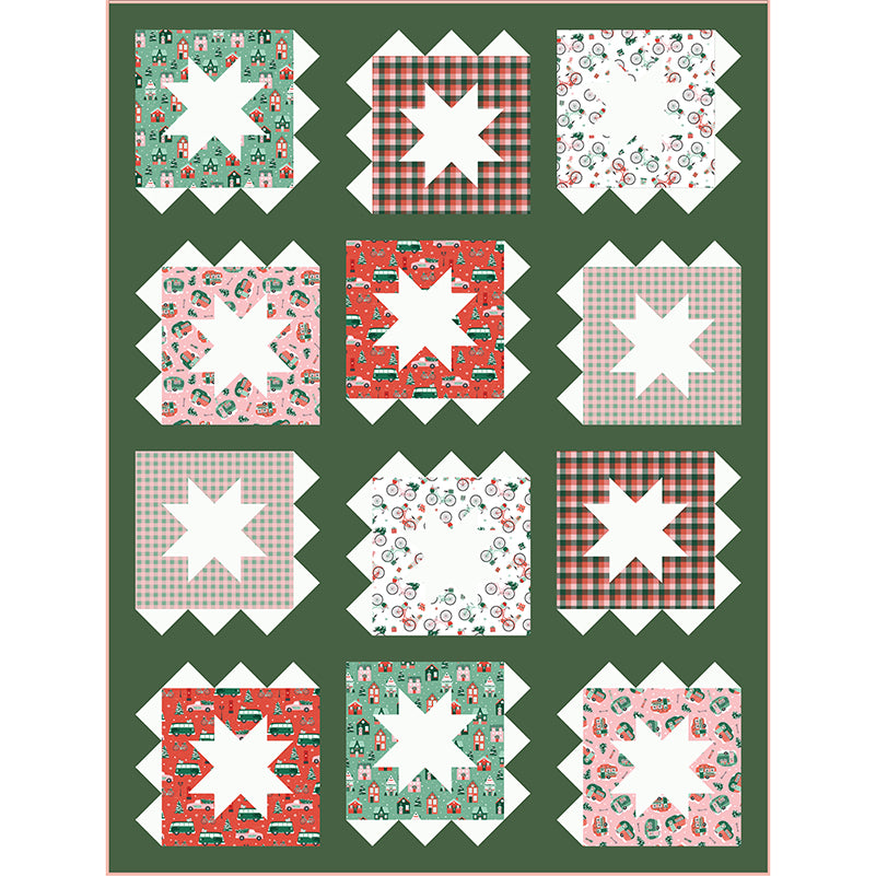 Quilt Pattern - Zippy by Patchwork and Poodles